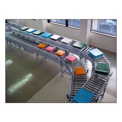 90 Deg Bend Idler Roller Conveyors