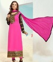 Georgette Pink Trendy Salwar Suit