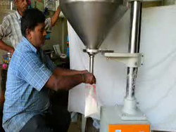 Semi Automatic Auger Filling Machines