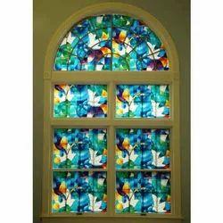 Stained Window Glass Film