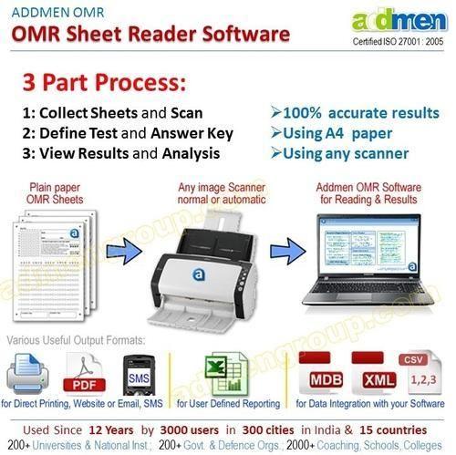 OMR OCR ICR SOFTWARE - Optical Mark Reader Manufacturer from