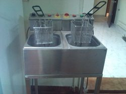 Deep Fat Fryer - Electrical Operated -double Tank  Model