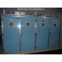 5000 Capacity Incubators and 1600 Capacity Hatcher