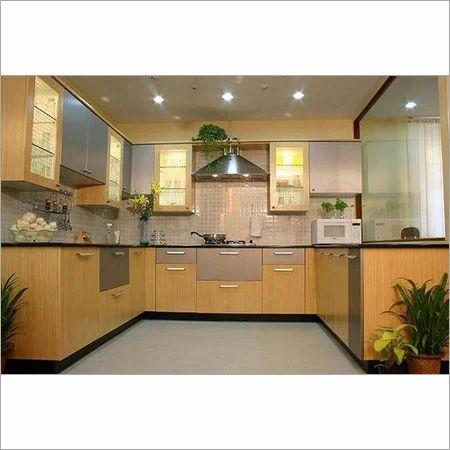 Modular Kitchen - U Shape Modular Kitchen Manufacturer ...
