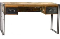 INDUSTRIAL FURNITURE CONSOLE TABLE