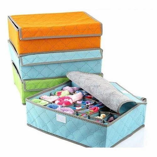 Compartment Non Smell Drawer Organizer Closet Storage Box
