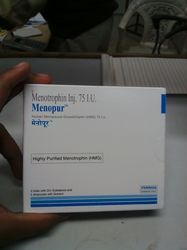 Menopur Menotrophin 75 IU Injection
