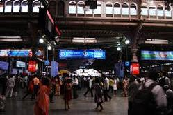 Advertising Led Screen Mumbai Local Train Stations/Platforms Advertisements