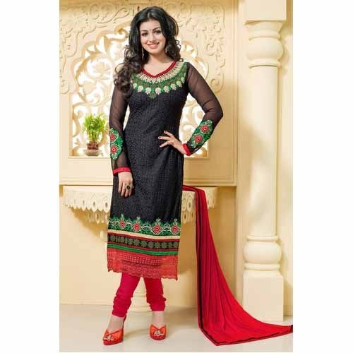 Black Neck Design Salwar Suit Salwar Suit Women Salwar Suits मह ल ओ क स ट सलव र In Khatodara Surat Loyola Fashions Id 9206883373