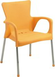 Wicker Hub Yellow Wood Restaurant Chairs