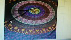 Tapestry Round Mandala Desigen Twin Size Queen Size Wall Hangings