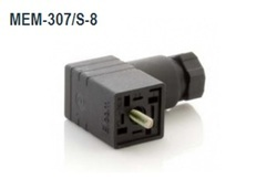 Micro DIN Connector Non Illuminated 3P E PG-7 MEM-307/S-8