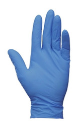 Powder Free Arctic Blue Nitrile Gloves