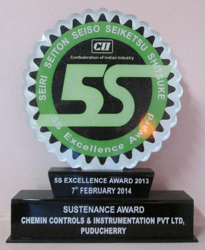 Awards & Memberships Of Chemin Controls & Instrumentation