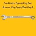 Combination Open & Ring End Spanner
