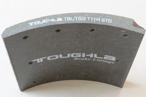 Toughla Carbon Steel Heavy Commercial Vehicle Brake Lining, Packaging Type: Carton Box