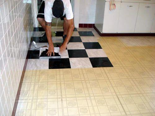 Tile Polishing Tiles Fitting Prajapati Builders Service Provider