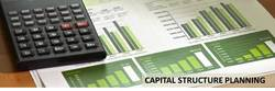 Capital Structure Planning Services