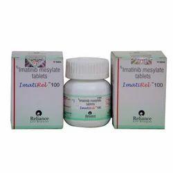 Imatirel 100 Mg Tablets (Imatinib Mesylate), Packaging Type: Bottle