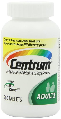 Centrum Multivitamin Tablets for Strong Bones - 200 each