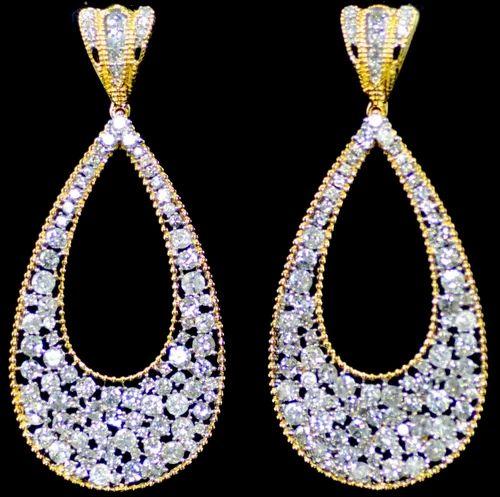 5a84aa342 Designer Dangler Diamond Earrings - Antariksh Creations, Mumbai   ID ...