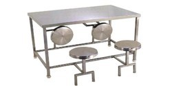 SGFKEPL Stainless Steel Industrial Dinning Table for Hotel