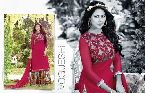 5118866643 Angels Fashion, Surat - Wholesale Trader of Designer Straight Cut ...