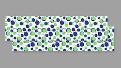Green And Blue Polka Dot Table Runner