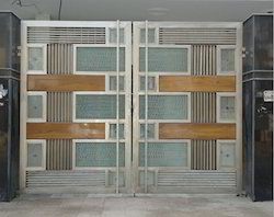 Stainless Steel And Cera Board Gates
