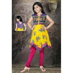 Cotton Tail Cut Churidar Girls Suits