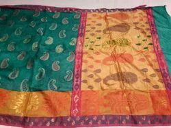 Banarasi Tussar Silk Saree
