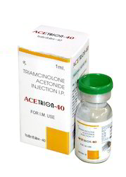 ACETRION-40 injection Triamcinolone Acetonide, For Hospital, Packaging Size: 1x1 Vial