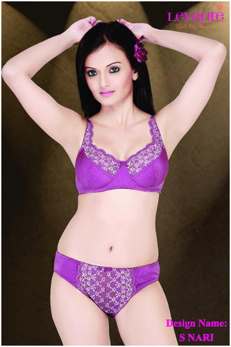 ae96d4827375 Lace Bra and Panty Set - View Specifications & Details of Lace Bra ...