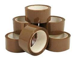 Brown BOPP Self Adhesive Tape