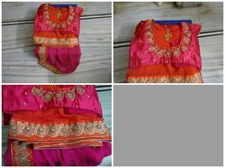 Navaratri Colorful Chiffon Sarees