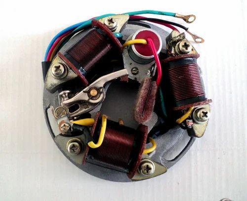 coil plate assembly for bajaj 6 volt & 12 volt