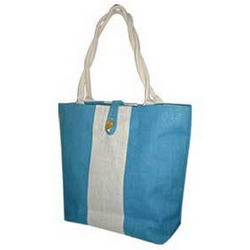 Colored Jute Ladies Bags