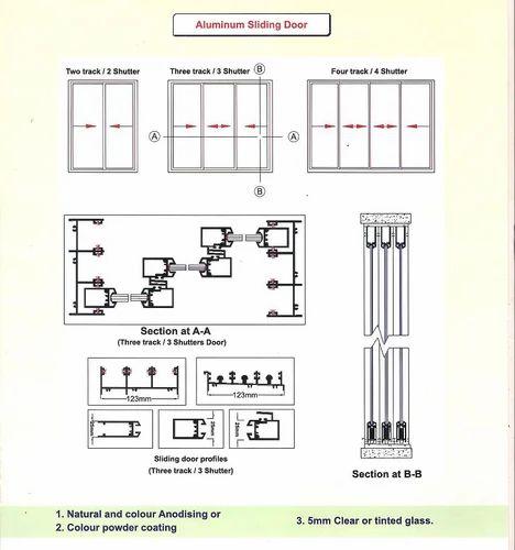 Aluminum Sliding Door View Specifications Details Of Sliding