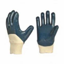 Nitrile Elestic Cuff Type Glove