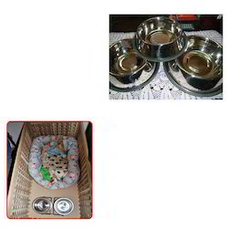 Stainless Steel Dog Bowl for Crates