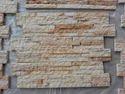 Teakwood Sandstone Rockface Wall Panels