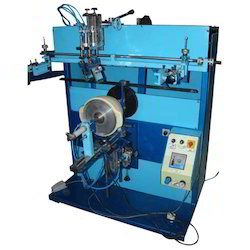 Semi Automatic Screen Printing Machine For Round Container