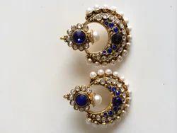 Moti Blue Earrings
