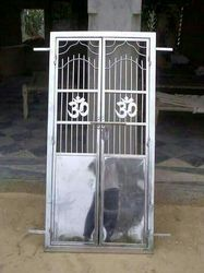 Stainless Steel Mandir Gate