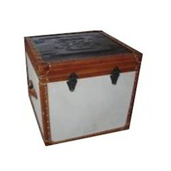 Leather Table Trunks