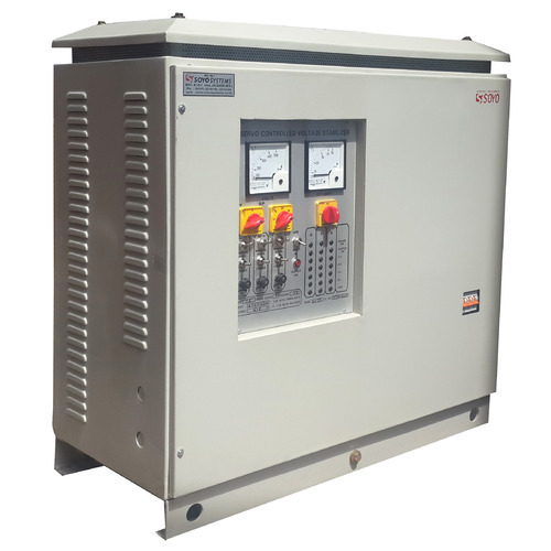 Voltage Stabilizer Three Phase Servo Voltage Stabilizer