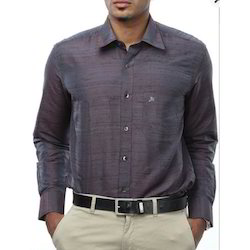Light Purple Silk Shirt