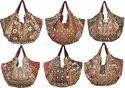 Designer Vintage Sari Handbag