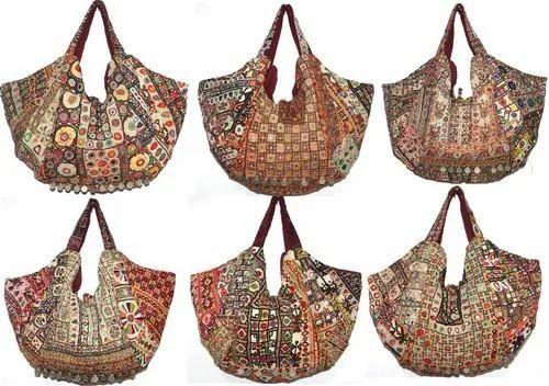Designer Vintage Sari Handbag Fashion Designer Bags J K