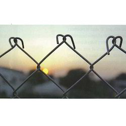 Silver GS Galvanized Steel Chain Link Fencing